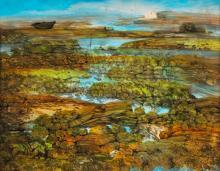 Juvenal Sanso (b.1929)  Landscape
