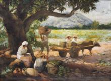 Fernando Amorsolo (1892-1972)  Under the Mango Tree