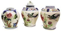 Set of Pukaw Jars  Late 19th Century