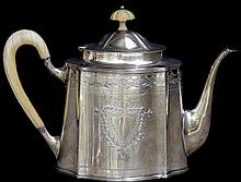 Silver Coffee and Teapot