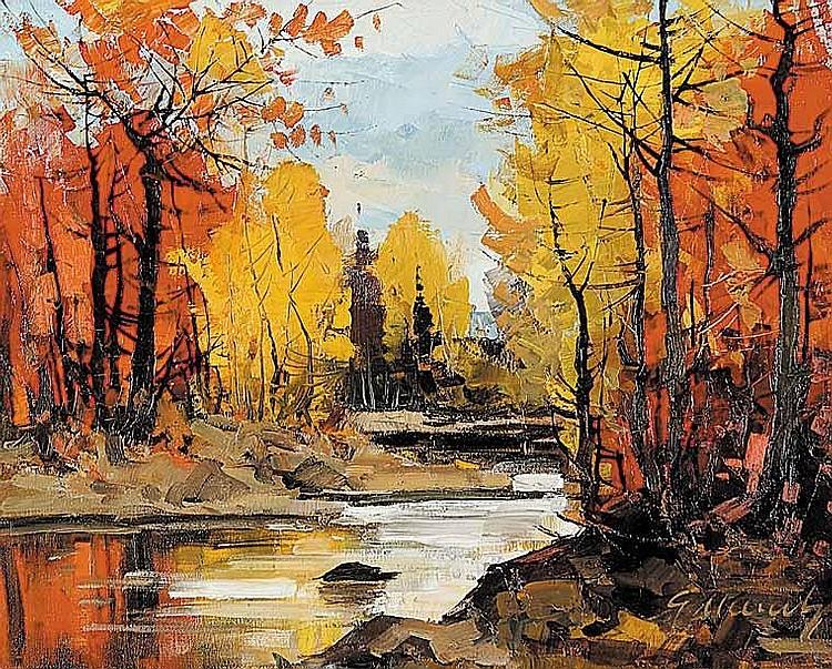 Artist : GEZA MARICH ~ [1913-1975] Canadian Title
