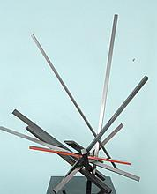 JOHN HENRY ABSTRACT METAL SCULPTURE