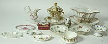 MIXED LOT OF 13 PORCELAIN PIECES
