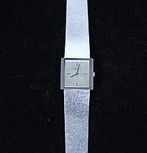 PATEK PHILIPPE 18 KT WHITE GOLD MEN'S WATCH