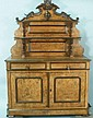 ANTIQUE FRENCH LOUIS PHILIPPE WALNUT BUFFET