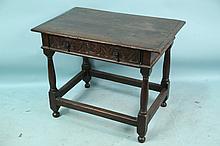 17th CENTURY ENGLISH OAK TAVERN TABLE
