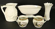 LOT OF FOUR ADAMS WEDGWOOD PIECES