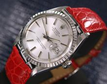 Men's Vintage Swiss Rolex Oyster Datejust Automatic Stainless