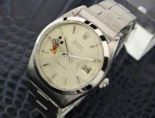 Men's Vintage Swiss Rolex Oysterdate Precision Mickey Dial