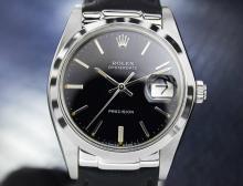 Mens Vintage Swiss Rolex Oysterdate Precision 6694
