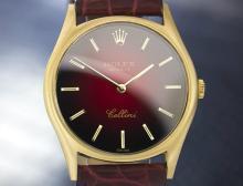 Men's Vintage Swiss 18k Solid Gold Rolex Cellini Manual Wind Dress Watch