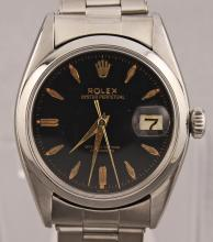 Vintage Rolex Oyster Date 6530 Automatic Original Dial Engraved