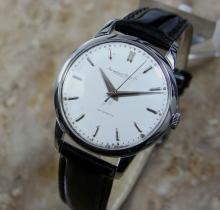 Rare Mens Vintage Iwc International Watch Co 1956 Original Unrestored