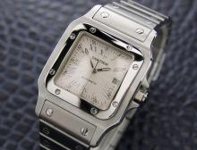 Mens/unisex Swiss Cartier Santos 2319 Automatic Dress Watch
