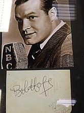 Autograph by Bob Hope