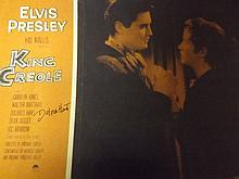 Rare King Creole Film Print Signed by Dolores Hart