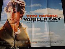 Film Poster of Vanilla Sky Starring Tom Cruise