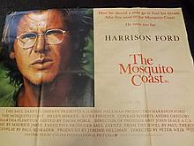 Film Poster of The Mosquito Coast Starring