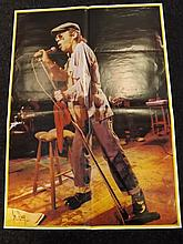 Signed Poster of Ian Dury