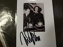 Signed Picture of Mickey Rooney