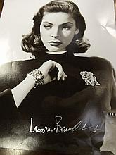 Black And White Photograph signed by Lauren Becoll