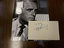 Signed Paper by Douglas Fairbanks Jr and