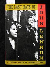 The Last Days of John Lennon, A Personal Memoir by