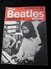 The Beatles Book, Monthly No. 74 Dated September