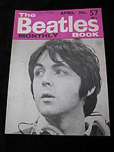 The Beatles Book, Monthly No. 57 Dated April 1968