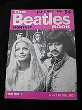 The Beatles Book, Monthly No. 54 Dated January