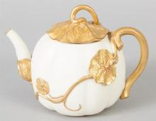 Royal Worcester Teapot, 19th Century