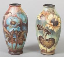 Artist Signed Continental Vases