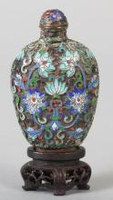 Chinese Cloisonne Snuff Bottle,18th-19th Century