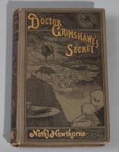 Hawthorne, Nathaniel: Dr. Grimshawe's Secret; James R. Osgood, 1883