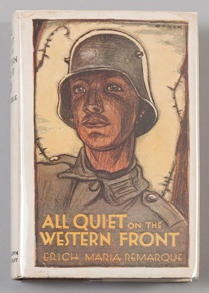 an analysis of the soldiers in the novel all quiet on the western front by erich maria remarque The nature of warfare as depicted in erich maria remarque's all quiet on the western front was a brutish and inhumane experience for soldiers on all sides of the front this novel, told from the point of view of paul baumer, a german soldier on the western front during wwi explores the grim reality soldiers faced on a daily basis and demonstrates the tremendous toll the war took on the mental and physical conditions of soldiers fighting on both sides of the war.