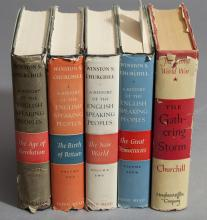 Collection of five hardbound books