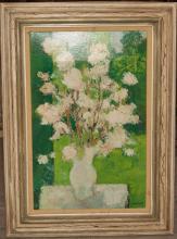 Framed print on canvas titled,