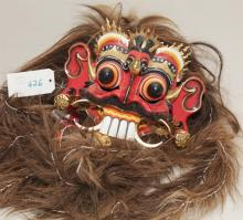 Asian dragon form mask / headdress