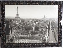 Views of Paris from the Arc de Triomphe, 1931,