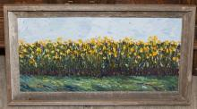 Framed oil painting, signed by artist