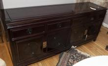 Asian design long dresser
