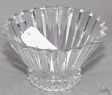 Crystal bowl stamped Rosenthal, Germany