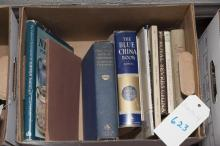 Collection of porcelain reference books including:  Royal Sevres, Dresden, Nippon, the Blue China Book, THe Practical Book of Chinaw...