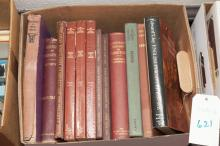 Collection of Furniture reference books including:  The Dictionary of English Furniture, three vols; Illustrated History of Furnitur...