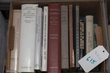 Collection of reference books on American furniture