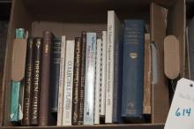 Collection of reference books on pottery and porcelain