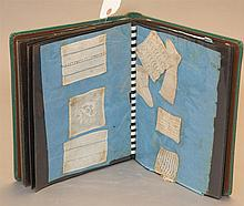 Album of vintage needlework