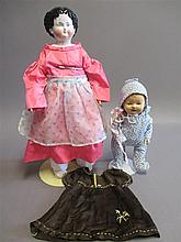Two dolls: 22