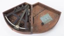 19th Century Octant Navigation Instrument