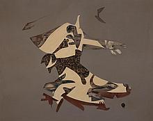 Dudley Clark Higginson, American (b. 1908), Untitled, circa 1950's, oil on canvas,